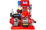 ETNA Y2 KO 15/6-40+D10+ KO 4/8 Yatay Pompalı Alarm Kitli Yangın Hidroforu